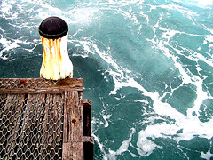 Turbulence #1 (Tidalist) Tags: water pier australia sorrento turbulence