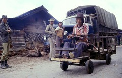 Eco-car (gustaf wallen) Tags: ecology car burma hills myanmar chin woodencar ecocar diamondclassphotographer