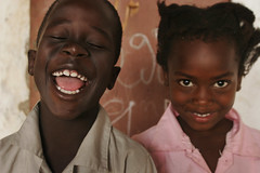 Funny (blaine davis) Tags: africa pink boy cute girl beautiful smile face kids hair children kid hilarious eyes funny village child sister brother lol teeth daughter ears son siblings laugh laughter senegal thies aminata scoreme43 keursadaro blainedavis