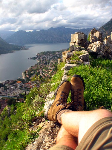 Relaxing Above Kotor