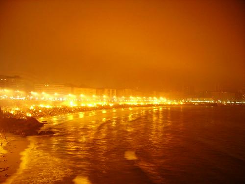Bonfires of Saint John, Corunha