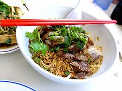 yai thai duck noodles - by chotda