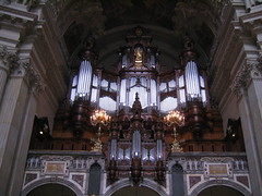 Sauer's Organ (Ryan Hadley) Tags: berlin church germany europe cathedral organ nave berlinerdom sauersorgan