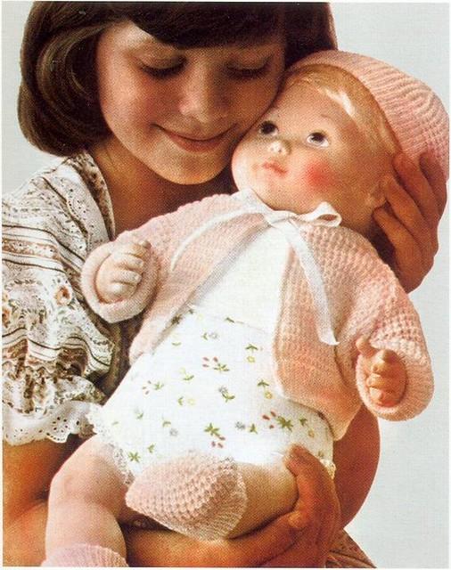 Mattel Hug 'N Talk Dolls ad, 1978
