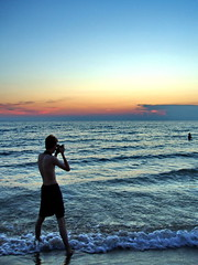 The photographer (Paladin27) Tags: lake beach me michigan vanburen vanburenstatepark