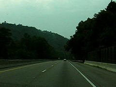 Driving in North Carolina/Tennessee Mountains ...