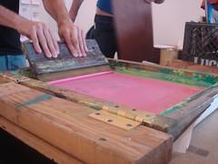 (jocelyn tran) Tags: screenprinting rps rockpaperscissorscollective