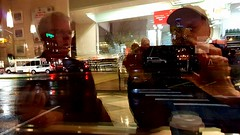 More from the Krispy Kreme window (rve13) Tags: tallbuildings reflexion krispykrem krispykreme selfportrait