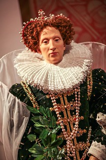 Queen Elizabeth I Wax Figure