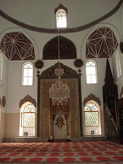 Di Dalam Orhan Gazi Mosque, Bursa, Turkey