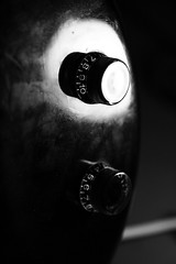 Controls (misswired) Tags: blackandwhite bw music monotone numbers controls instrument knobs bassguitar tone volume
