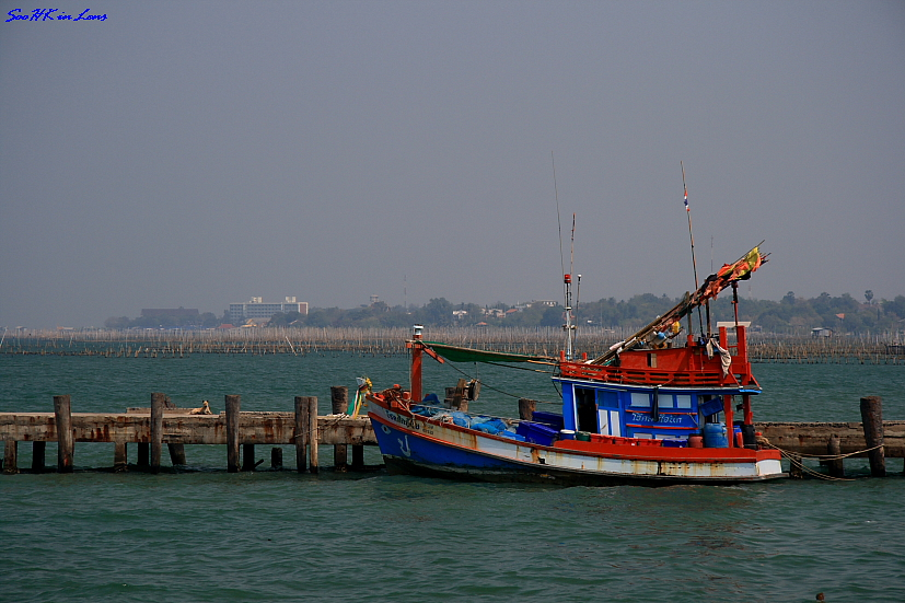 Fishing boat @ Bangsaen, Thailand