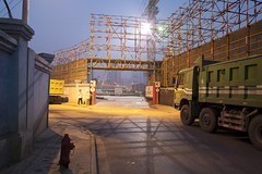 Shanghai (arnd Dewald) Tags: china shanghai baustelle 中国 上海 constructionsite 中國 拆 jingandistrict arndalarm 静安区 shanhaiguanlu mg778448k3e05co30wh30bl10orsat20klein