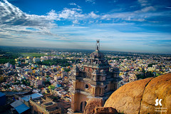 """Tiruchirapalli Rock Fort • <a style=""""font-size:0.8em;"""" href=""""http://www.flickr.com/photos/86056586@N00/18395990954/"""" target=""""_blank"""">View on Flickr</a>"""