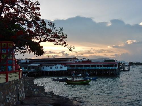 Subtle Hua Hin Sunset