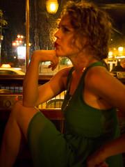 The Thinker graduates (andyscamera) Tags: ontario canada sarah night peterborough andyscamera redgarnet
