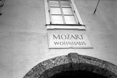 Mozart's Residence, Salzburg (Ilya.Bur) Tags: vacation salzburg film june analog austria republic czech kodak olympus tmax400 mozart mjuii wohnhaus 2015 caffenolcl