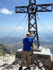 """Me on the summit of Monte Velino (2486m) • <a style=""""font-size:0.8em;"""" href=""""http://www.flickr.com/photos/41849531@N04/19126920594/"""" target=""""_blank"""">View on Flickr</a>"""