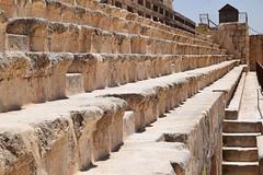 Seats (Keith Mac Uidhir  (Thanks for 4m views)) Tags: city history archaeology architecture greek ancient ruins roman jordan classical jerash jordanian jordanien jordanie antiquity grecoroman  gerasa  urdun jarash  jordani rdn jordnia    yordania  hordan  iordania   hordania jordnsko