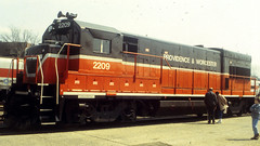 P&W 2209 (blazer8696) Tags: usa museum unitedstates connecticut 1996 railway locomotive ge drm danbury pw dn 2209 u23b t1996 199604008