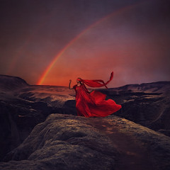 blind beginnings (brookeshaden) Tags: london fairytale iceland rainbow meetup fineart conceptual blindfolded