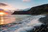 Talisker Bay (Nomadic Vision Photography) Tags: ocean sea scotland waterfall isleofskye unitedkingdom hebrides greenpastures jonreid taliskerbay northernscotland tinareid nomadicvisioncom
