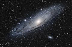 M31 The Andromeda Galaxy (Dark Arts Astrophotography) Tags: space andromeda galaxy astrophotography m31 astronomy astrometrydotnet:status=solved astrometrydotnet:id=nova1179003