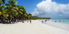 Day 118 (Noelia Geijo) Tags: summer cloud green beach water sand palm punta cana saona