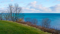 Lake View in December (imageClear) Tags: lake trees color cold lakemichigan beauty nature hill grass sheboygan wisconsin nikon aperture imageclear flickr photostream landscape d500 35mmf18 dx