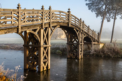 Bridge over ice (bart7jw) Tags: ice winter cold croome court national trust t5i canon 700d sigma 18250