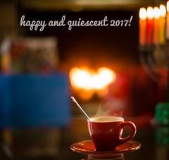 Happy new year 2017! (mark.aizenberg) Tags: fireplace menorah cupofcoffee espresso coffee celebration hanukkah holidays indoors 2017 happynewyear