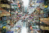 urban deconstruction (MdKiStLeR) Tags: color street urban blur layers doubleexposure art fineart mongkok hongkong asia urbandeconstruction mdkistler 2016 copyrightmichaelkistler
