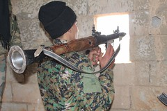 Kurdish YPG Fighter