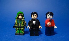 Lego DC Universe Minifigures #4 - Smallville season 6-10 (Sir Doctor) Tags: lego superman green arrow bizarro dc smallvile blur custom