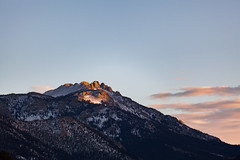 Last light (fotoshane) Tags: rockymountains rockymountainnationalpark mountain mountains susnet light clouds sky landscape fotoshane colorado estespark estesparkcolorado rmnp nationalpark nps winter alpenglow