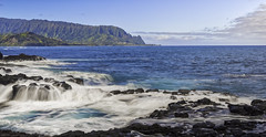 Queens bath (Glenn Guinita) Tags: kauai ocean waves hawaii landscape photography nature outdoors kauaitrip adventure beautifulplace amazing queensbath princeville island landscapephotography amazingplace destination winter northshore