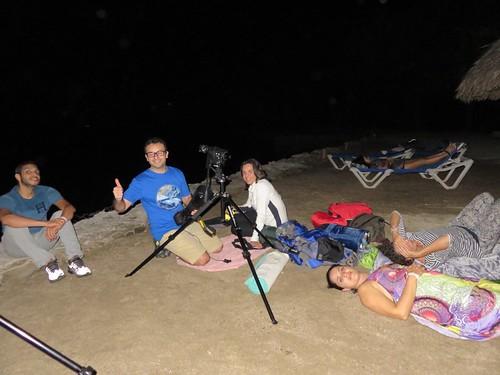 Gira astronómica Punta Coral 2017