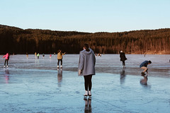 Sognsvann (eleventh.second) Tags: europe oslo norway sognsvann ice skate lake frozen landscape travel holiday vacation