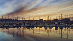 If i could paint … (pixelmama) Tags: california emerycove emeryville oakland pixelmama sunrise explore