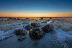 Freezing (mattiboeschoten) Tags: seascape finland helsinki cold winter freezing nikon d750 landscape water sea rocks sunrise suomi