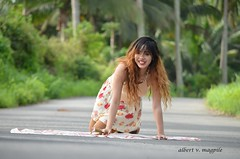 DSC_1318 (albertmagpile) Tags: mountain nature sceneries philippines 2017 style icon road photography nikon canon view tagaytay calaca matipok batangas green clean coconuttree dress halterdress skirt longdress