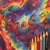 Nebula Pencilcolor Drawing | Kitslams Art (Kitslam's Art) Tags: nebula drawing outerspace universe pencilcolor pencilcolour colorpencil colourpencil prismacolor pencil pencils timelapse speedart space rainbow roygbiv drawings awesome incredible hyperrealism hyperrealistic