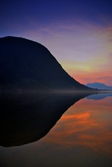 Spegling av fjell -|- Mountain reflection (erlingsi) Tags: mountain rotevatn rotsethorn norway reflection volda sunnmøre norwegen flickr vakket beautiful beau