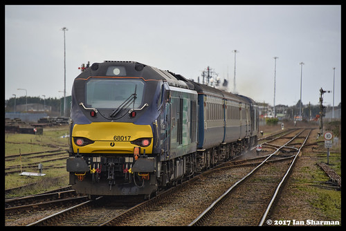 No 68017 Hornet 11th Jan 2017 Lowestoft