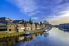 River Ouse, York (JoshuaSYChang) Tags: yorkshire york uk river cityscape city sky blue water historic landscape travel nikon sunny
