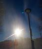 Snowdust (Earthlandia) Tags: snow dust sun shine blue sky lamp venus