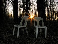 Aspettando un Amico (Matteo Salvador) Tags: amico friend matteosalvador sunset tramonto sole sun friuli sedievuote lonelychairs melancholy malinconia surreale surreal concettuale conceptual solitudine solitude