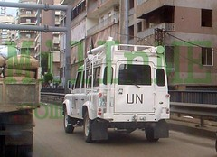 nup1 (milinme.myjpo) Tags: malcon unifil land rover defender 110 beirut malaysian lebanon liban libano