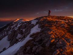 Svilaja (Leonardo Đogaš) Tags: croatia sunset mountain ridge landscape svilaja dalmatia dalmacija winter snow leonardo đogaš