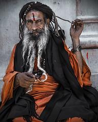Pashupatinath temple (Roberto Farina Travel Photography) Tags: pashupatinathtemple sadhu religion hinduism nepal himalaya portrait asia travel workshop